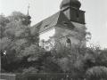 Kostel  od JV - 70.léta 20. stol.