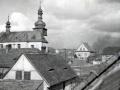 Kostel od jihu -50.léta 20. stol.