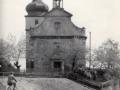 Kostel od západu - 60. léta 20. stol.