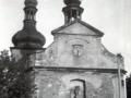 Kostel - průčelí 60.léta 20. stol