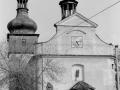 Kostel - průčelí 80. léta 20. stol.