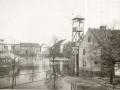 Náves při povodni 1947