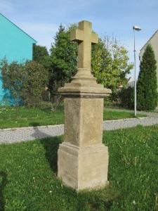 Strupčice - Kříž latinský