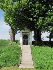 Strupčice - Kaplička Panny Marie