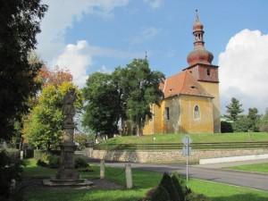 Strupčice - Kostel sv. Václava