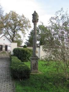 Strupčice - Pieta na sloupu (kralupská)