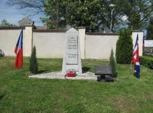 Strupčice - Pomník obětem I. a II. světové války